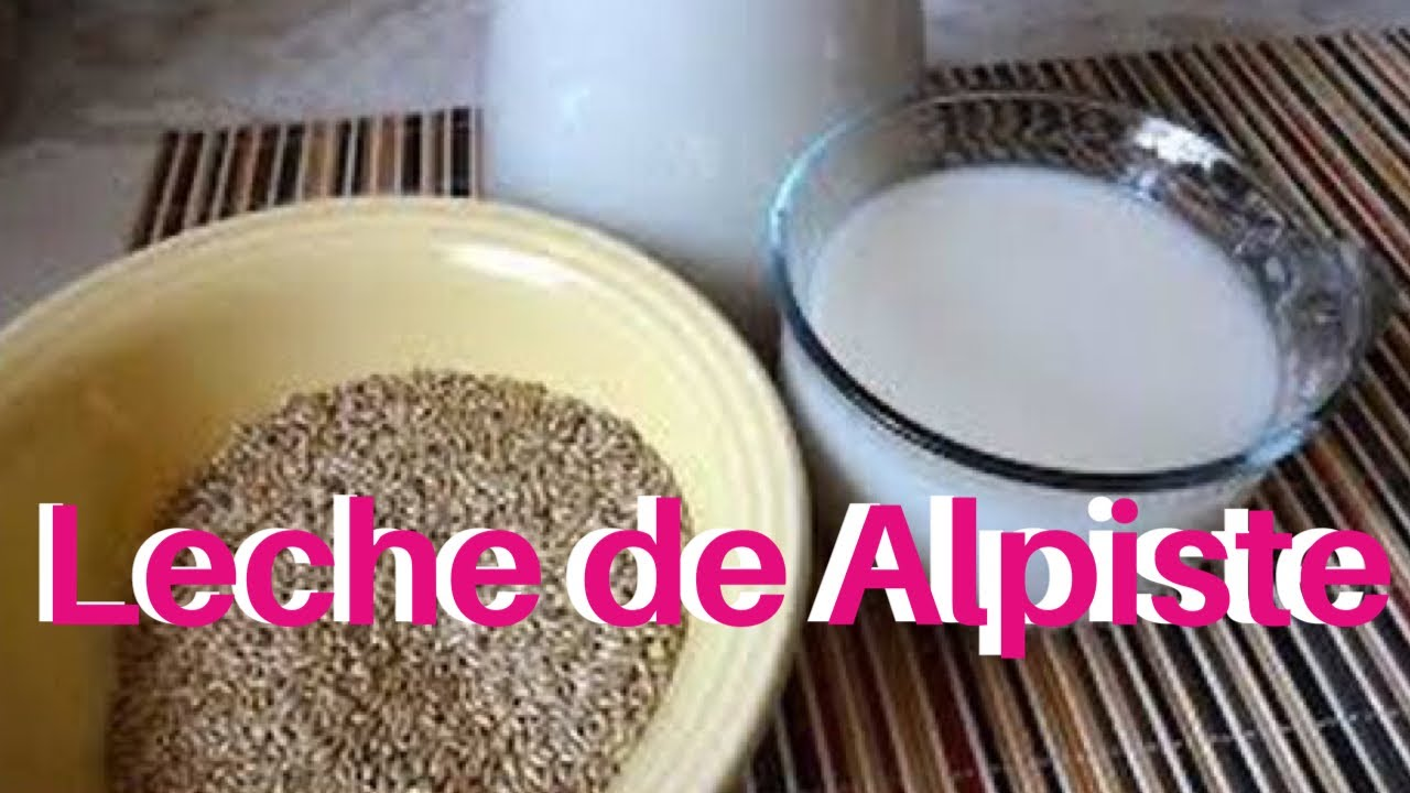 Cómo Hacer Leche De Alpiste Leche De Alpiste Agua De Alpiste Elmundodelynda Youtube