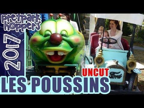 Parc les Poussins 2017 Theme Park Video Uncut - Small city amusement park at Lille, France