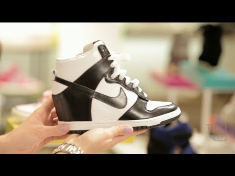 How To Wear Wedge Sneakers This W Elizabeth Holmes Youtube