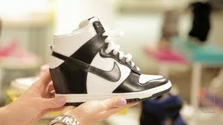 How to Wear Wedge Sneakers: #THIS. w/ Elizabeth Holmes