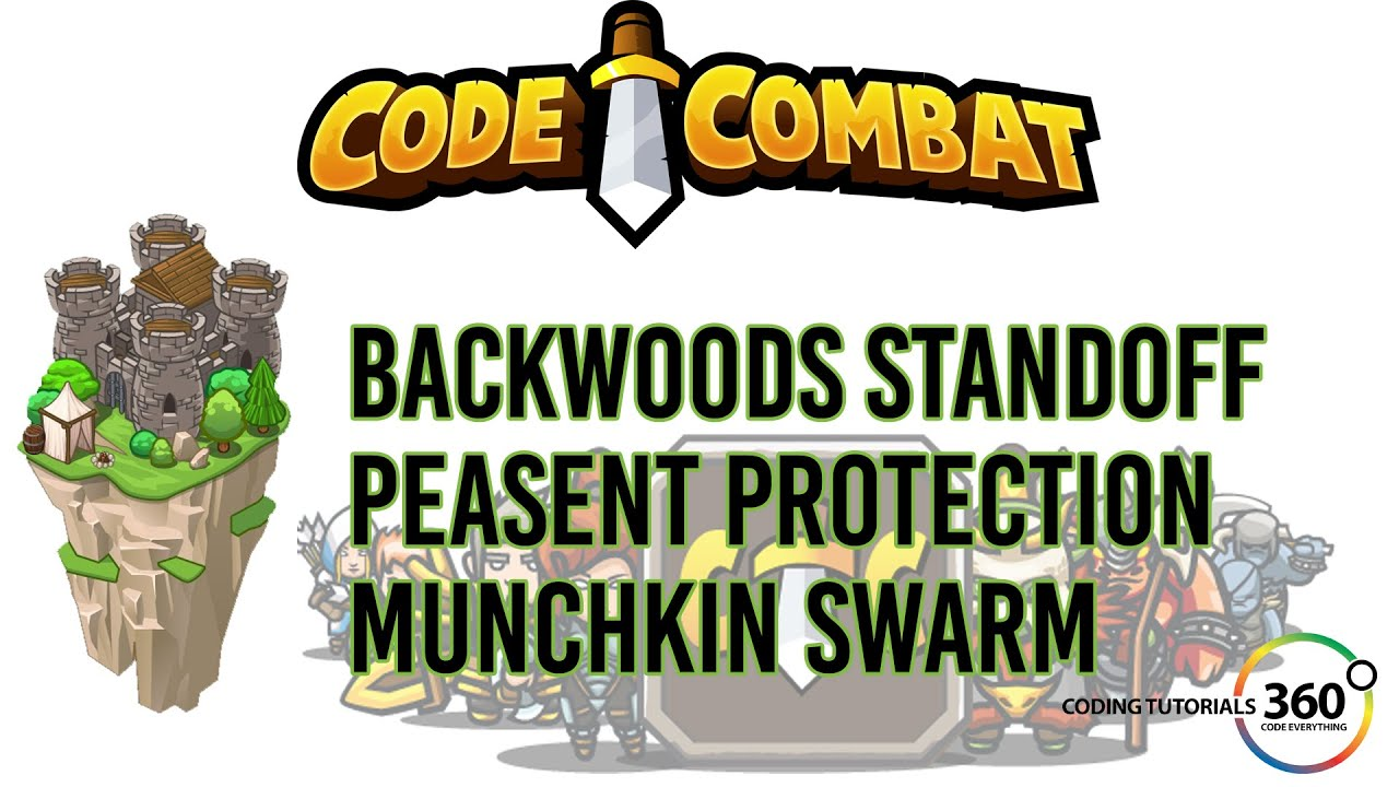 CodeCombat Backwoods Forest: Backwoods Standoff, Peasant Protection ...