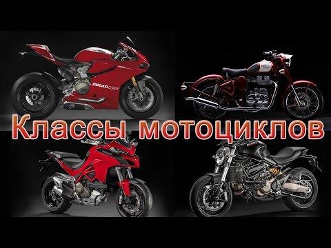 Классы мотоциклов. Как разобраться и выбрать