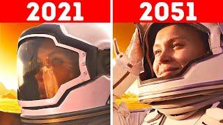 Первый год на Марсе: таймлапс