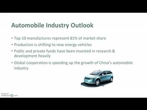 China's automobile industry and market
