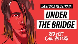 RED HOT CHILI PEPPERS - La storia illustrata di UNDER THE BRIDGE | Draw My Song