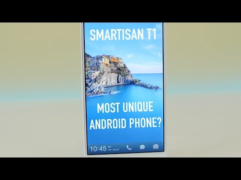 The Most Unique Android Phone? (Smartisan T1)