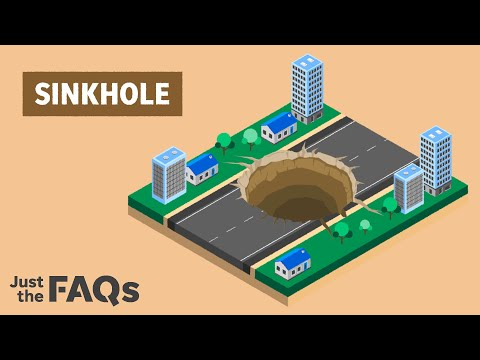 From Florida to New York, here's why sinkholes continue to happen   Just the FAQs