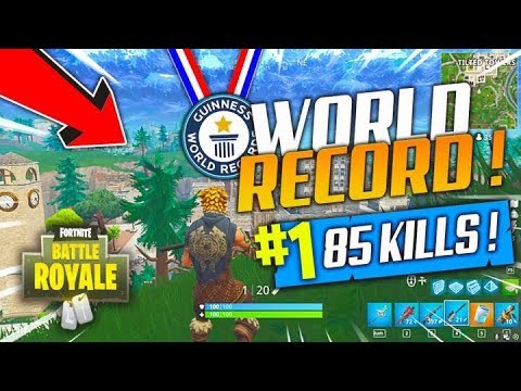 FORTNITE WORLD RECORD SQUAD 85 KILLS FORTNITE BATTLE ...
