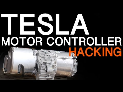 TESLA MODEL S MOTOR INVERTER HACKING