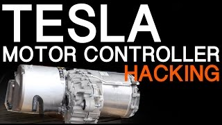 TESLA MODEL S MOTOR INVERTER HACKING