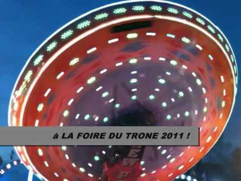 CLIP VIDEO MOONRAKER L'UN DES PLUS BEAUX MANEGES DE LA FOIRE DU TRONE 2011 FETE FORAINE PARIS