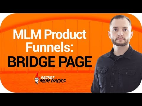 MLM Product Funnels: Bridge Page
