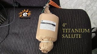 100mm Titanium Salute - Europla