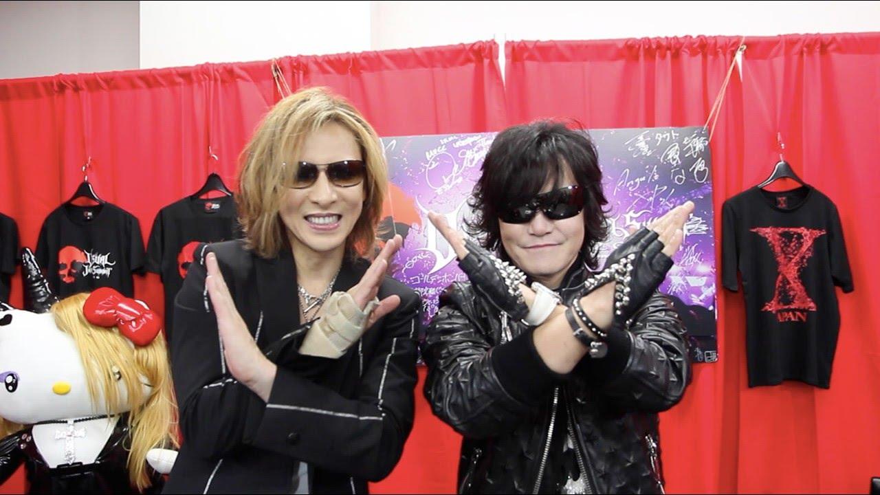 独占】X JAPAN YOSHIKIとToshIに...