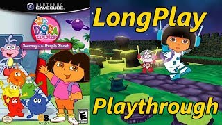 Dora The Explorer: Journey To The Purple Planet - Longplay Full Game Walkthrough  No Commentary