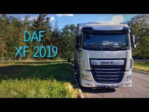 DAF XF 2019 первые 10.000 км. Начинает раздражать...