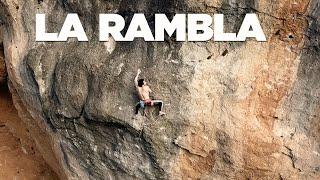 Tomás Ravanel Climbs La Rambla 9a+
