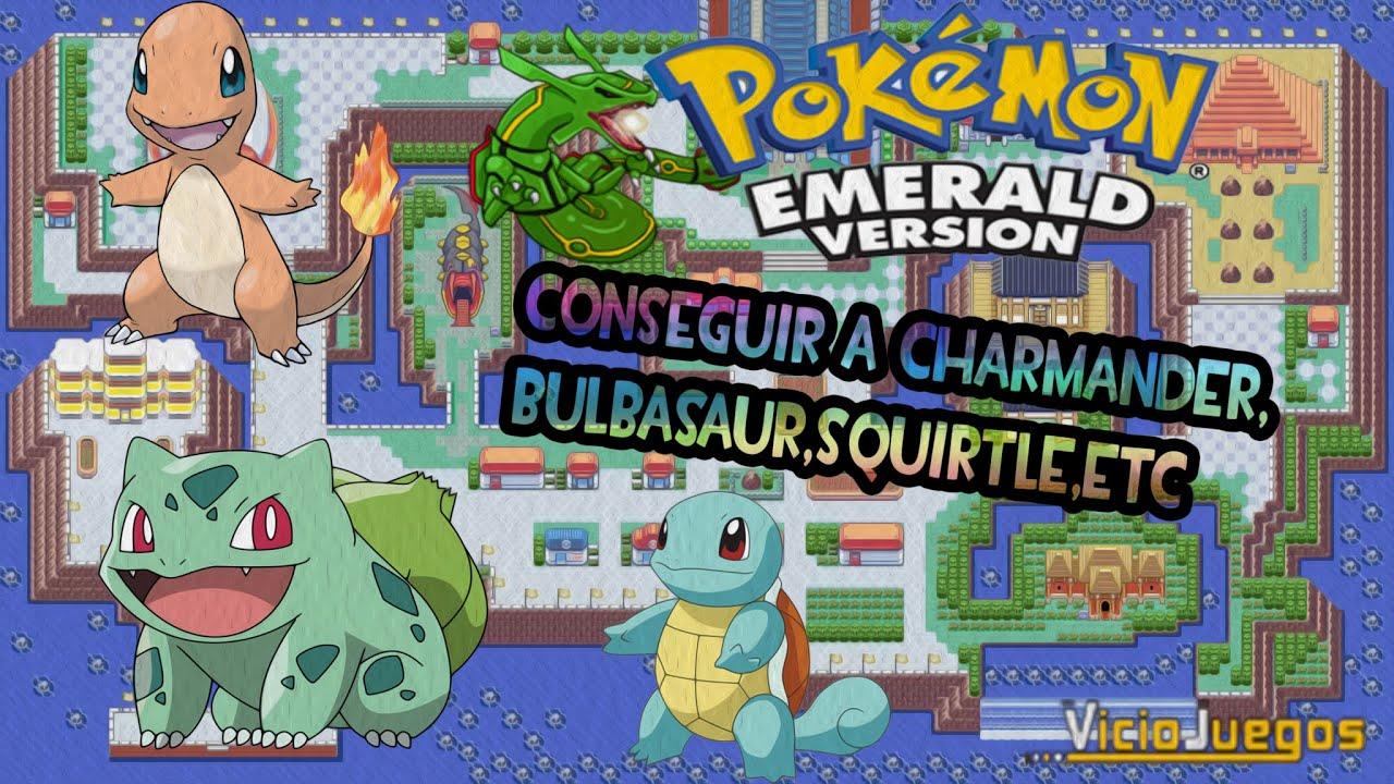 Pokemon esmeralda conseguir a charmander bulbasaur for Gimnasio 7 pokemon esmeralda