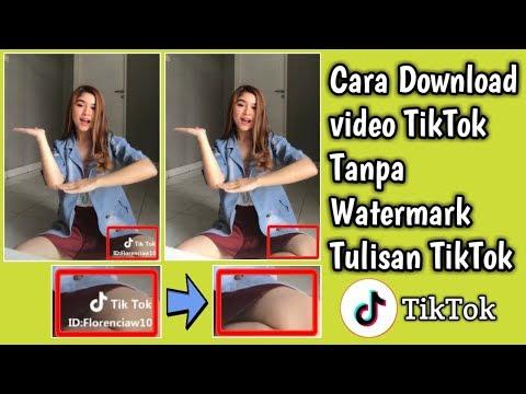 Cara Download Video Tik Tok Tanpa Watermark Tulisan Tik Tok