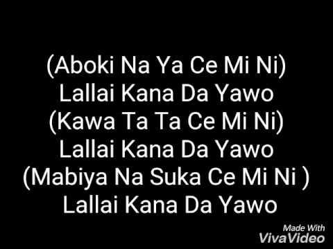 Boc Madaki Yawo Video Lyrics