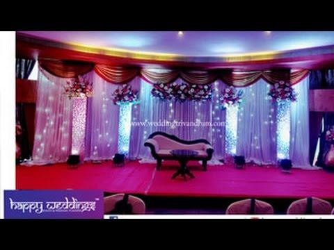 Wedding Stage Decoration In Trivandrum Hotel White
