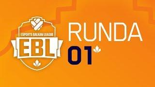 EBL Sezona 6 - ŠAIM SE vs LEVEL UP Runda 1 w/ Sa1na, Mićko, Gliša i hairy_freak