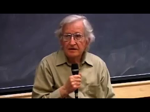 Noam Chomsky - The Disintegration of Yugoslavia