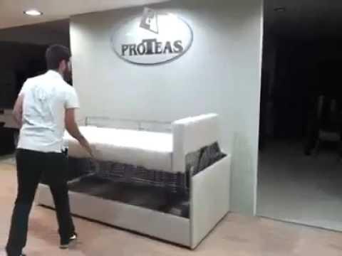 Proteas Divano Letto A Castello.Divano Letto A Castello Youtube