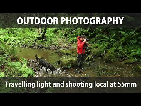 Outdoor Photography - Travelling light and shooting local at 55mm