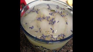 Homemade Organic Lavender Lemonade