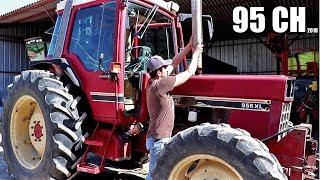 Lentretien du tracteur de 95 chevaux - 2018