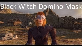Dark Souls 2: Black Witch Domino Mask Tutorial
