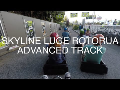 GoPro: HIGH SPEED LUGE ROTORUA ADVANCED TRACK POV
