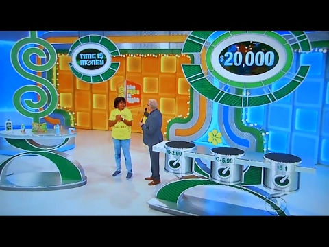 The Price is Right - Time is Money - 2/1/2017