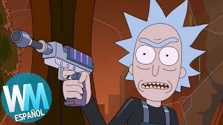 ¡Top 10 Muertes LOCAS de Rick y Morty!