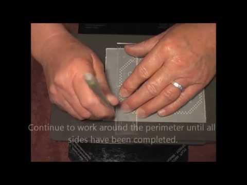 PCA-Parchment Craft- Man card TP3370E wth TCA4132E Demo