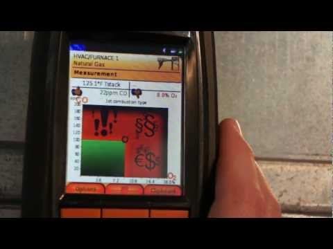 Testo 320 Combustion Analyzer with HD Display