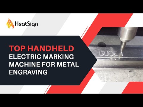 Hand Held Electric Marking Machine For Metal deep engraving