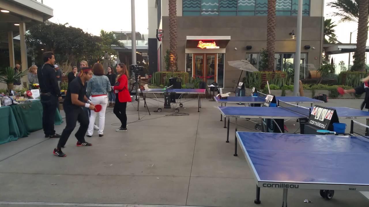 Ping Pong At Pacific City Huntington Beach