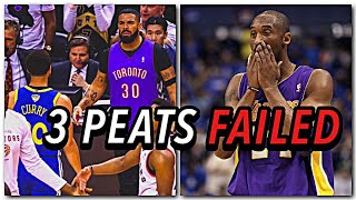3 Peats: The Almost Impossible Feat For Every NBA Dynasty