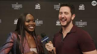 Anna Diop Talks Titans