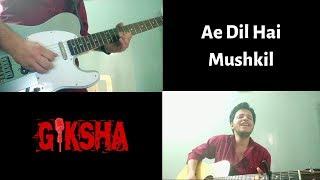 [947.04 KB] Ae Dil Hai Mushkil | Arijit Singh | Cover by Giksha
