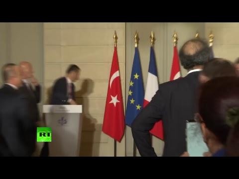 Point presse d'Emmanuel Macron et de Recep Tayyip Erdogan