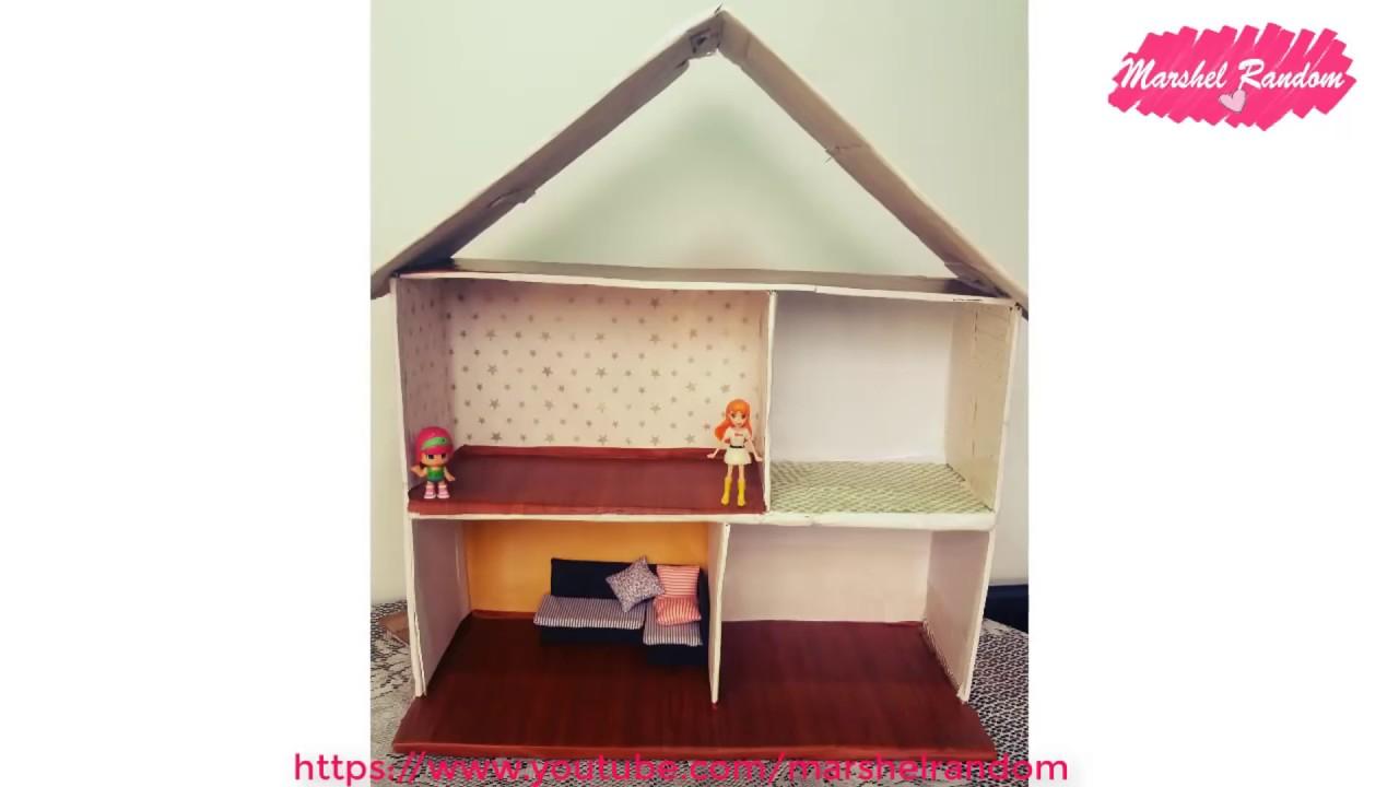 Como hacer una casa para mu ecas con cart n reciclado - Hacer manualidades en casa ...