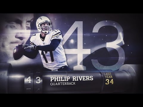 #43 Philip Rivers (QB, Chargers) | Top 100 Players of 2015