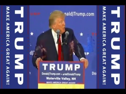 FULL Speech Q&A  Donald Trump Speaks in Waterville Valley, NH 12/1/15