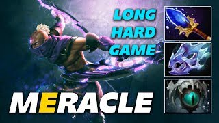 Meracle Anti Mage | Long Hard Game | Dota 2 Pro Gameplay