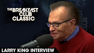 Larry King On Early Beginnings, Important Questions & Legacy | 2015 #Throwback Interview
