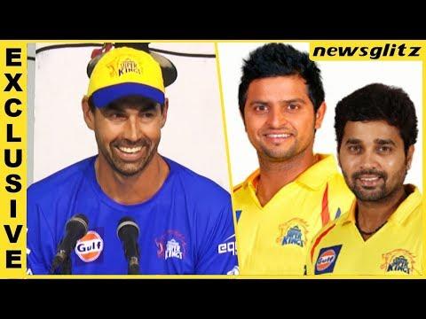 Stephen Fleming Reveals about CSK's Opening Batsman | Suresh Raina, Murali Vijay, MS Dhoni