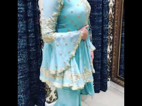 Bridal Sharara Dress